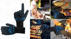 Open Flames Are No Match For These $11 Cooking Gloves
