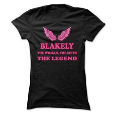BLAKELY, the woman, the myth, the legend - #mens hoodies #V-neck. PURCHASE NOW => https://www.sunfrog.com/Names/BLAKELY-the-woman-the-myth-the-legend-rjjoaaqsyu-Ladies.html?60505
