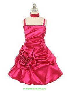 3acd5e91653 pink happy Dress Fuchsia Flower