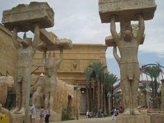 Ancient Egypt zone in Universal Studio Singapore by Gita #travel #asia