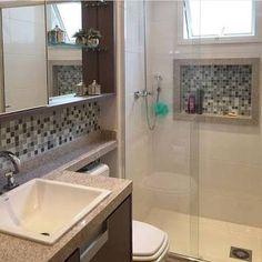 Resultado de imagem para nicho de banheiro