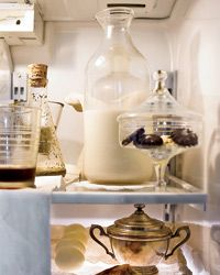 Food artist J. Morgan Puette: a curated refrigerator.