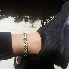 Black x Yellow x White  #cthings #bracelets #friendshipbracelets #macrame #macramebracelets #diy #handmade #handemadewithlove #handmadejewelery #summer #braccialetti #braccialetti #braccialettidellamicizia #fattomano #estate