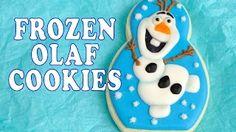 galletas decoradas de frozen - YouTube