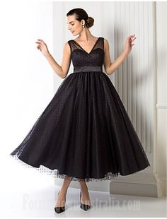 5dac55d182f  blackformaldress Australia Formal Evening Dress Black Plus Sizes Dresses  Petite A-line Princess V