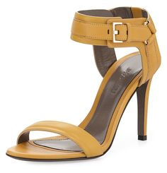 Jason Wu Leather Ankle-Cuff #Sandal, #luxury  #Gold - on #sale 55% off @ #NeimanMarcus  #JasonWu  Learn more about coolonsale and wantlets at :  http://blog.coolonsale.com/post/91945886274/what-is-a-wantlet