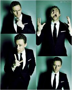 Tom Hiddleston by Lorenzo Agius.