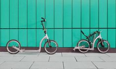 SwiftyONE MK3 folding commuter scooter with 16inch wheels
