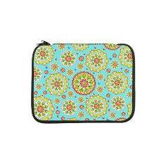 "Kristofer's Mandala 13"" Laptop Sleeve > EVERYTHING Kristofer's #Mandala > #PatriciaSheaDesigns"
