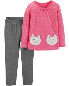 Girl Toddler Dress Leggings Pants Set 2t Straightforward Skye 2piece