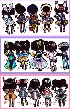 CLOSED-Clothes Adopts by Guppie-Adopts on deviantART