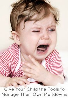 Give Your Child the Tools To Manage Their Own Meltdowns | The Jenny Evolution