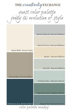 Jenny has used some of the best colors out there like Palladian Blue, Aegean Teal and Natural Choice and I received a lot of feedback from Jenny's palette that readers have used and love Sea Salt by Sherwin Williams. Next to Palladian Blue, Sea Salt is another really popular and favorite color of readers. by SPEETway