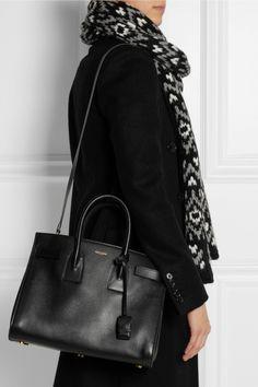 ed635ff17e1d7 Saint Laurent - Sac De Jour small leather tote