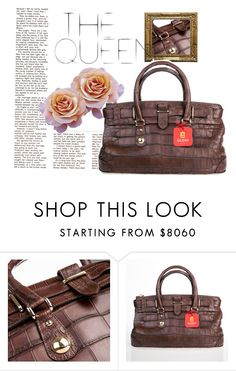 """""""THE QUEEN"""" by gleniofficial ❤ liked on Polyvore featuring bag, handbag, crocodile, gleni and gleniboutique"""