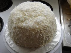 Snow Ball Cake