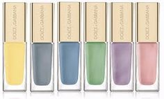 Dolce & Gabbana  sorbet colors for your nails