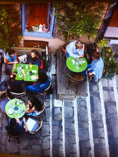 Cafe in Plaka, Athens, Greece