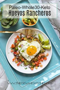 Paleo-Whole 30-Keto Huevos Rancheros! #keto #paleo #whole30 #huevosrancheros #breakfast