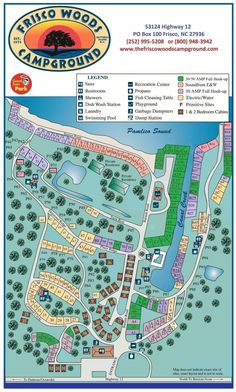 Parks Amp Recreation Chester Frost Park Camping Map
