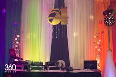 Studio 54 theme decor. See exactly how to plan your own Studio 54 party at sparklerparties.com/studio-54