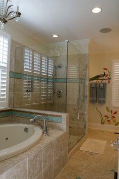 same tub & shower setup as our home