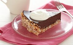 Wheat-Free Chocolate Coconut Tart Recipe  http://www.wheatbellyblog.com/recipes/chocolate-coconut-tart/