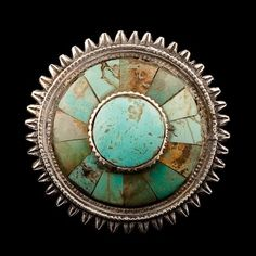 Silver and Turquoise Ring | Afghanistan |   Circa Early 20th Century