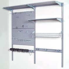 Keep everything nice and neat in your garage or shop with the Storability Garage Wall Storage System.