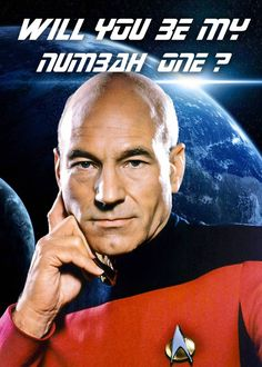 StarTrek: Will you be my Number One?