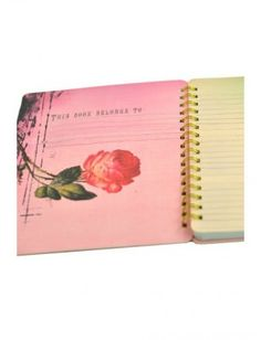 Papaya Art Spiral Notebook - Pink Rose