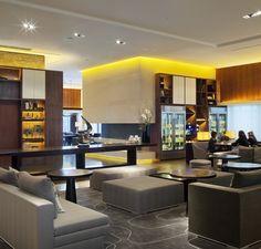 Executive Lounge at Conrad Seoul Hba Design, Lounge Design, Lounge Decor, Lobby Lounge, Hotel Lobby, Hotel Interiors, Office Interiors, Lobby Interior, Interior Design
