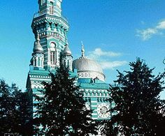 Perm, Russia: home of Russian Pickling cucumber    (Main Mosque (1902-03), North Facade, Perm', Russia)