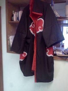 Cosplay Corner: Making an easy Akatsuki cloak