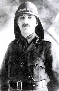 Yusuf al Azma was the Syrian Minister of War and Chief of Staff under King Faisal. He served as a General in the Ottoman army before joining the Arab revolt against the Ottomans which gave Syria its independence in 1918. Following the Sykes-Picot Agreement, France gave Syria an ultimatum in 1920 to submit to French authority. In spite of King Faisal's acceptance, al-Azmah refused to give in. He lead a poorly armed force into battle at Maysalun and was killed in the battle.