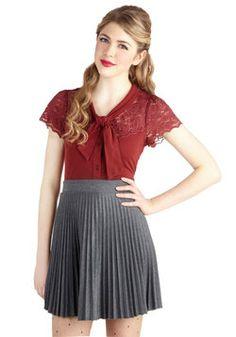 Accordion to You Skirt, #ModCloth