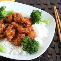 General Tso's Chicken. Better than takeout!