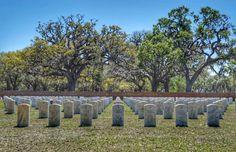 Beaufort National Cemetery~Beautiful & Somber