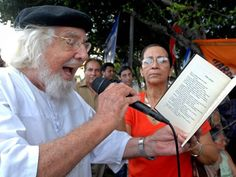 Ernesto Cardenal - from Nicaragua