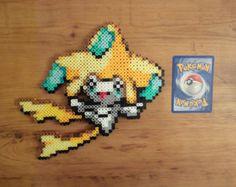 Jirachi Pokemon Perler Bead Sprite