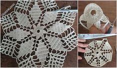 2 SIRA DESENLİ ÇARŞAF PİKE VE KENAR DANTELİ | Nazarca.com Knitting, Cotton, Design, Binder, Chrochet, Flowers, Tricot, Breien, Stricken