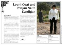 Pohjan neito pattern is now available in English. The pattern contains instructions for both Louhi and Pohjan neito.