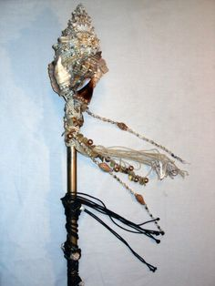 Sea Witch / Siren Goddess Mermaid Headdress with by Sarieka