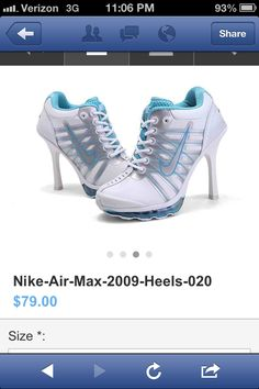 Nike heels..? Dunno what to say about that...