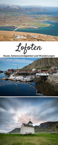 Lofoten Rundreise - Informationen zur Route, Unterkünfte, Sehenswürdigkeiten und Wandermöglichkeiten
