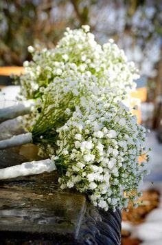 Baby's breath bouquets!