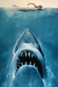 Jaws... One of the scariest movies of my youth!! I'm still scared of the ocean!!