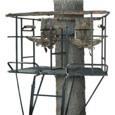 Gorilla 16' Wrap Around Treestand. I could use a few of these.