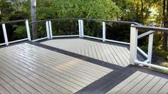 Contrasting color border with Behr DeckOver product