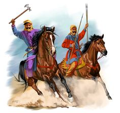 While history is not favorable to the ancient Achaemenid Persians when it comes to Greek wars, it should be noted that the Persians had quite a reputable record against the Greeks in battles prior to the Marathon episode in 490 BC. Persian Warrior, Cyrus The Great, Sassanid, Achaemenid, Ancient Persian, Alexander The Great, Historical Pictures, Historical Art, Dark Ages